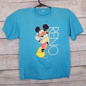 Vintage Disney Mickey Mouse Reno Shirt Medium